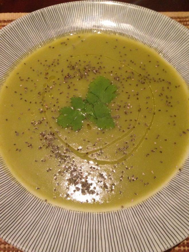 Sopa de Ervilha nutritiva