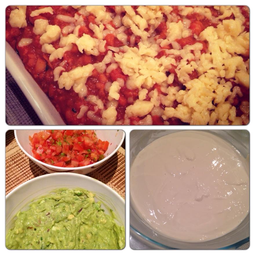 Guacamole e Sour Cream