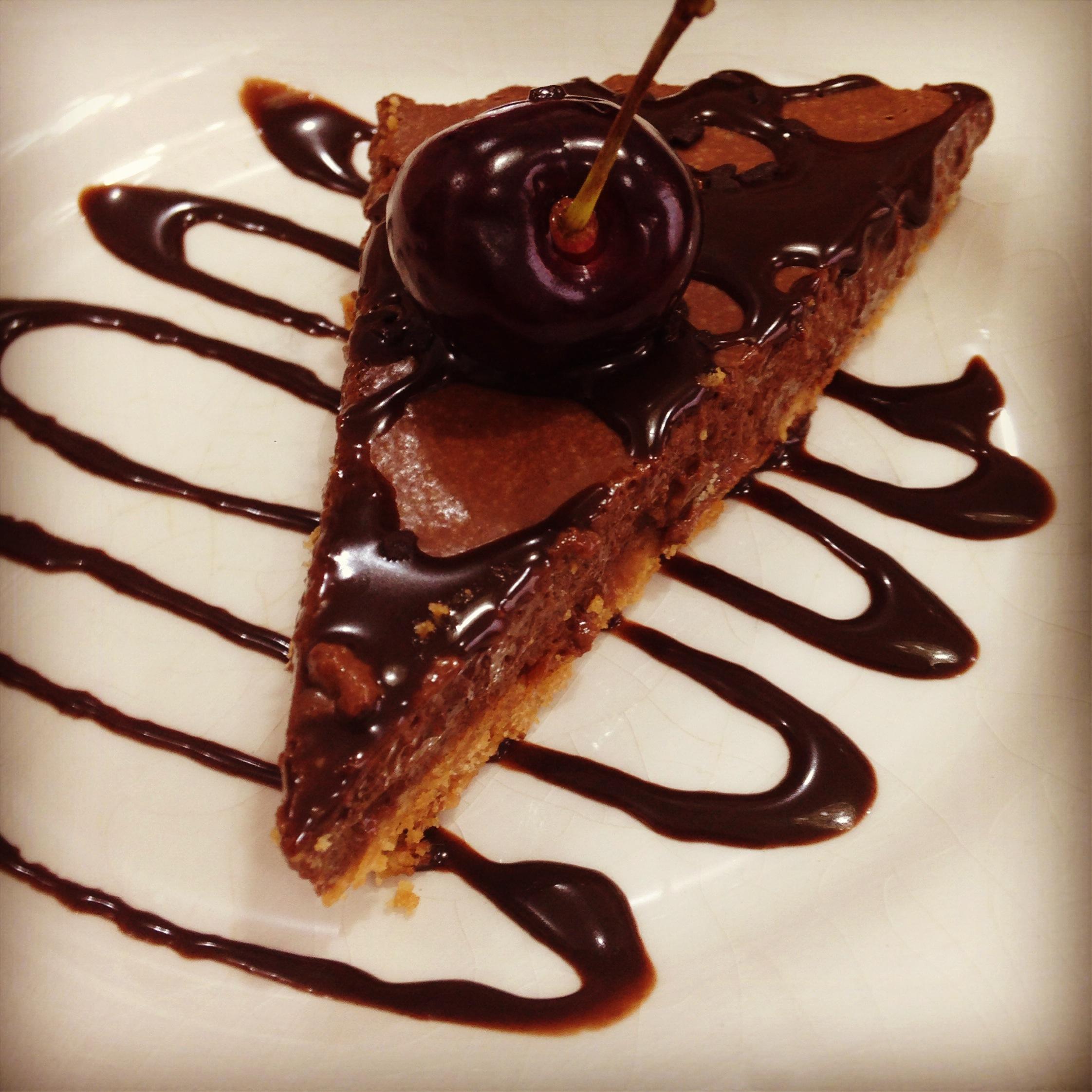 Torta Mousse de chocolate sem glúten e sem ovos