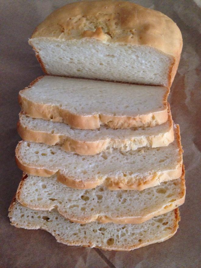 Pão de alho sem glúten e sem lactose